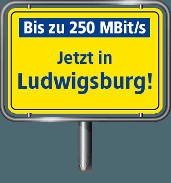 VDSL Anschluss bis zu 100 MBit/s in Ludwigsburg