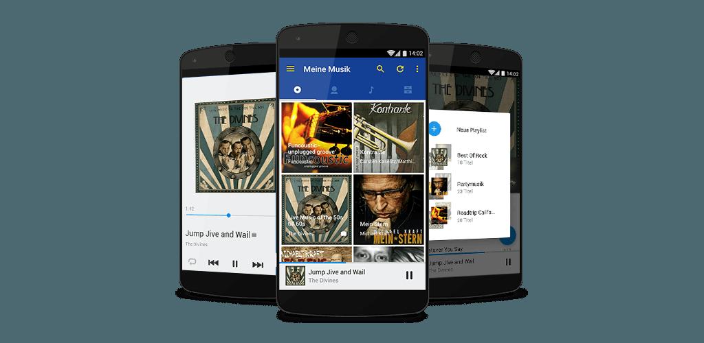 Online Speicher Musik App