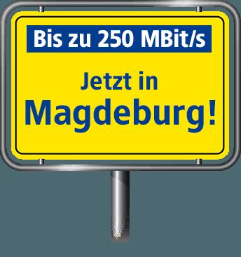 VDSL Anschluss bis zu 100 MBit/s in Magdeburg