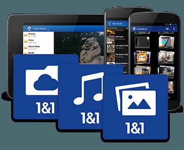 1&1 App Überblick
