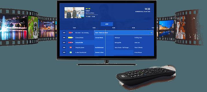 HDTV mit 1&1 Mediacenter