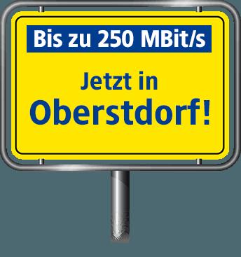 VDSL Anschluss bis zu 100 MBit/s in Oberstdorf