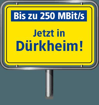 VDSL Anschluss bis zu 100 MBit/s in Bad Dürkheim