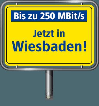 Bis zu 100 MBit/s in Wiesbaden