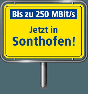 VDSL Anschluss bis zu 100 MBit/s in Sonthofen