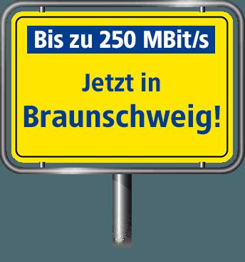 Bis zu 100 MBit/s in Braunschweig