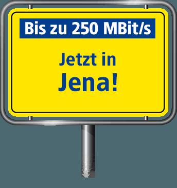 Bis zu 100 MBit/s in Jena