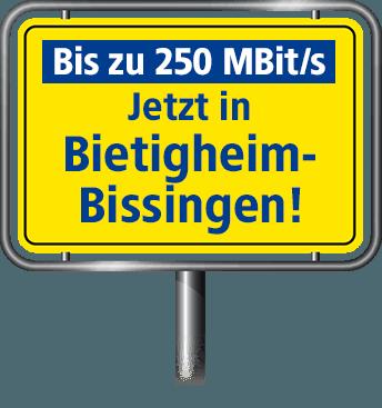 VDSL Anschluss bis zu 100 MBit/s in Bietigheim-Bissingen