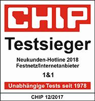 CHIP Neukunden-Hotline 2018 12/2017
