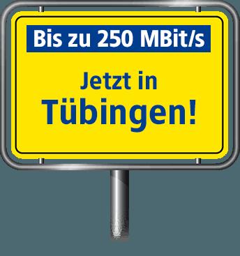 VDSL Anschluss bis zu 100 MBit/s in Tübingen