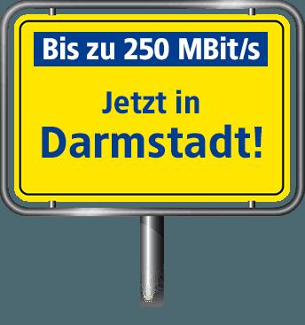 VDSL Anschluss bis zu 100 MBit/s in Darmstadt