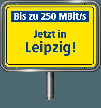 Bis zu 100 MBit/s in Leipzig