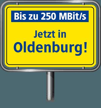 VDSL Anschluss bis zu 100 MBit/s in Oldenburg