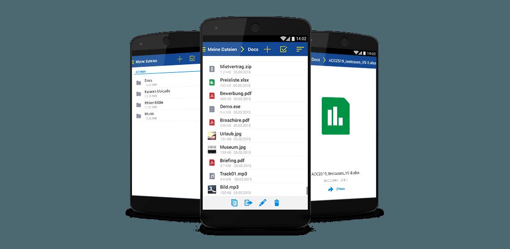 Online Speicher Dokumente App