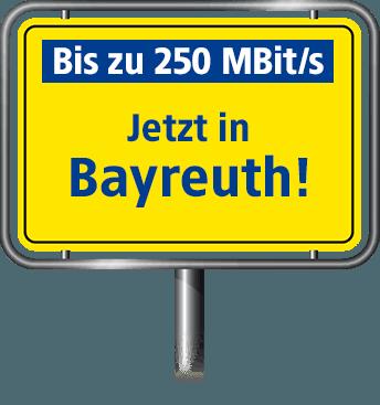 VDSL Anschluss - bis zu 100 MBit/s in Bayreuth