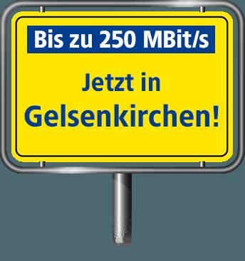 Bis zu 100 MBit/s in Gelsenkirchen
