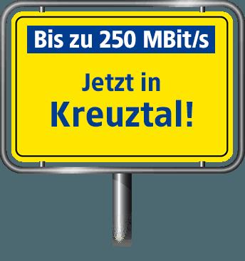 VDSL Anschluss bis zu 100 MBit/s in Kreuztal