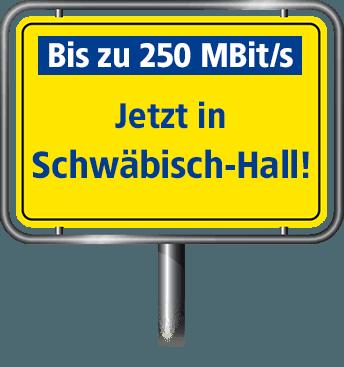 VDSL Anschluss bis zu 100 MBit/s in Schwäbisch Hall