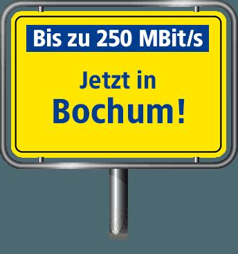 Bis zu 100 MBit/s in Bochum
